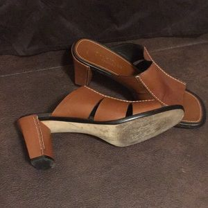 Cole Haan Shoes - Cole Haan Sandal two inches size 7.5 M